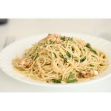 64.  Spaghetti Scampi  (A,B,C,E)
